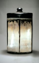 John bedding squared bottle fumed and smoke fired