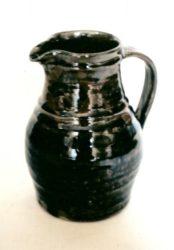 John bedding stoneware jug made at the Leach pottery circa 1972
