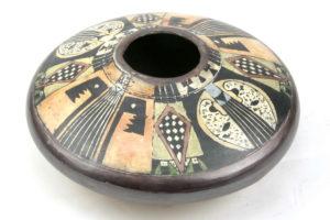 John bedding earthenware illustrated pot