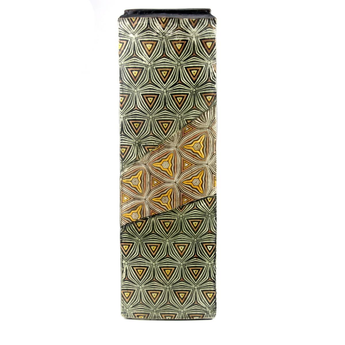 Triangular high rise pot 51x16  £750 - P19