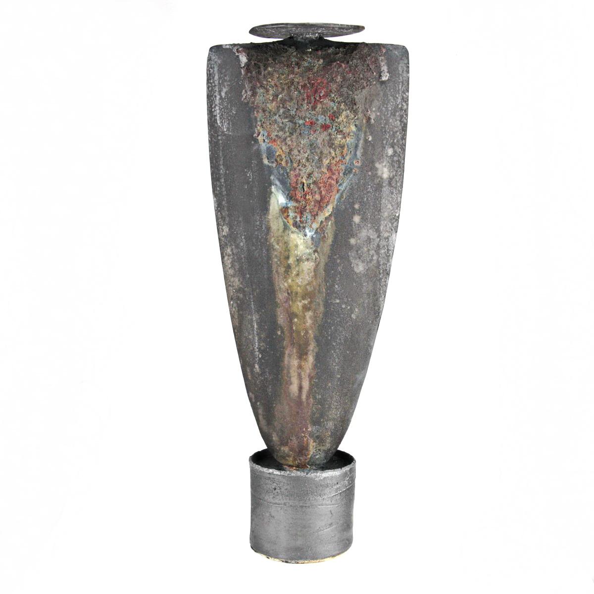 Tall pedestal pot